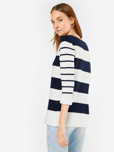 ESPRIT 3/4 Arm-Pullover atriped