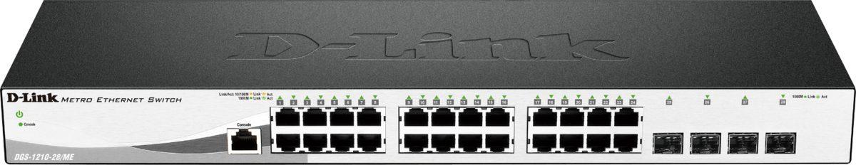 D-Link Switch »DGS-1210-28/ME 28-Port Layer2 Sma Man ME Gigabit«
