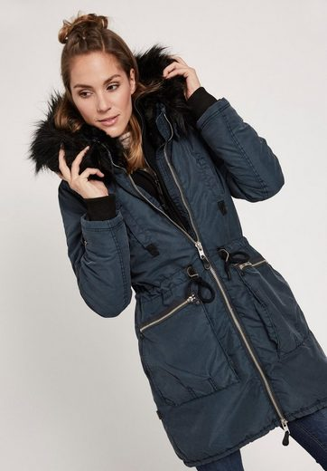 Khujo Winter Coat Ilena With Inner Jacket, With Removable Knitting Use