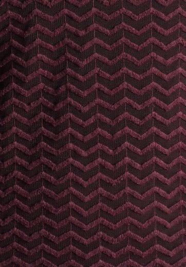 khujo Spitzenshirt FINISTER, mit Zickzack-Muster