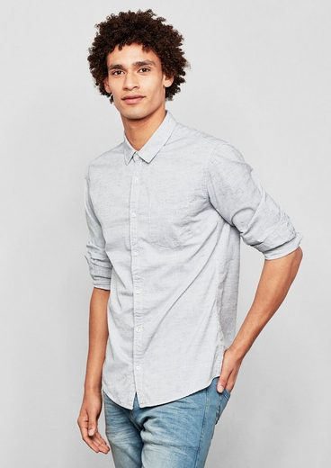 Q/S designed by Extra Slim: Meliertes Hemd