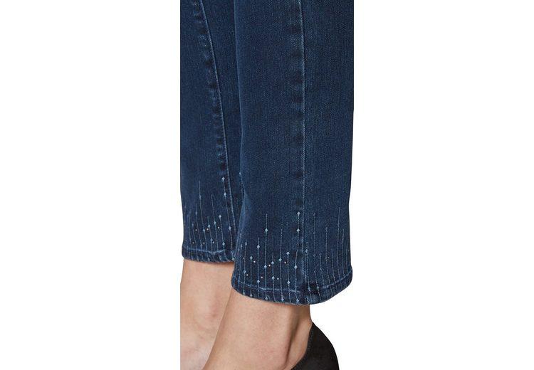 NYDJ Sheri Ankle Hem Embroidery aus Future Fit Zuverlässige Online-Verkauf Billig Verkauf Vorbestellung Empfehlen xvpOIRA