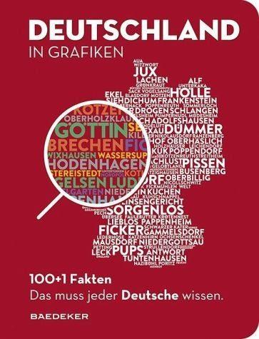 Gebundenes Buch »Baedeker 100+1 Fakten. DEUTSCHLAND IN GRAFIKEN«