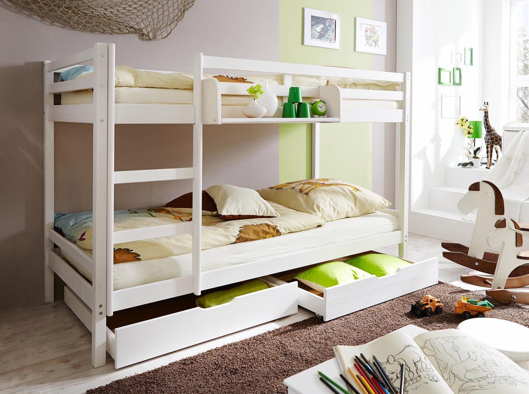 Ticaa Etagenbett : Ticaa einzel etagenbett kiefer erni« kaufen otto