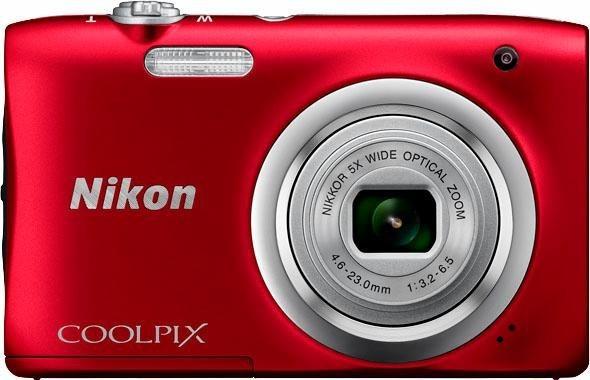 Digitalkameras - Nikon »Coolpix A100« Kompaktkamera (NIKKOR Objektiv, 20,1 MP)  - Onlineshop OTTO