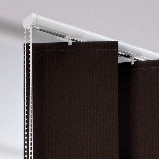 Lamellenschiene, Liedeco, (1-tlg), für XXL-Lamellen, mit 25 cm Breite