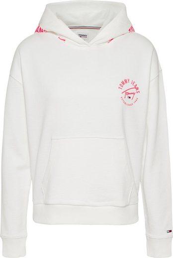 Tommy Jeans Kapuzensweatshirt »TJW BXY TAPE HOODIE« mit Tommy Jeans Logo-Schriftzug auf der Kapuze