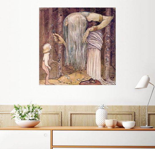 Posterlounge Wandbild, Das Zauberkraut