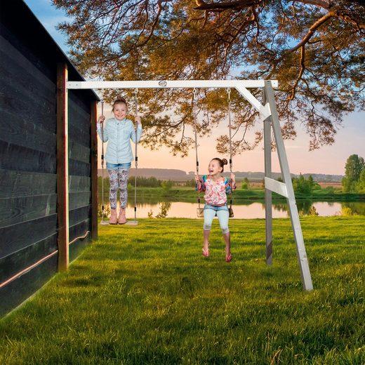 SUNNY Doppelschaukel BxLxH: 244x160x215 cm