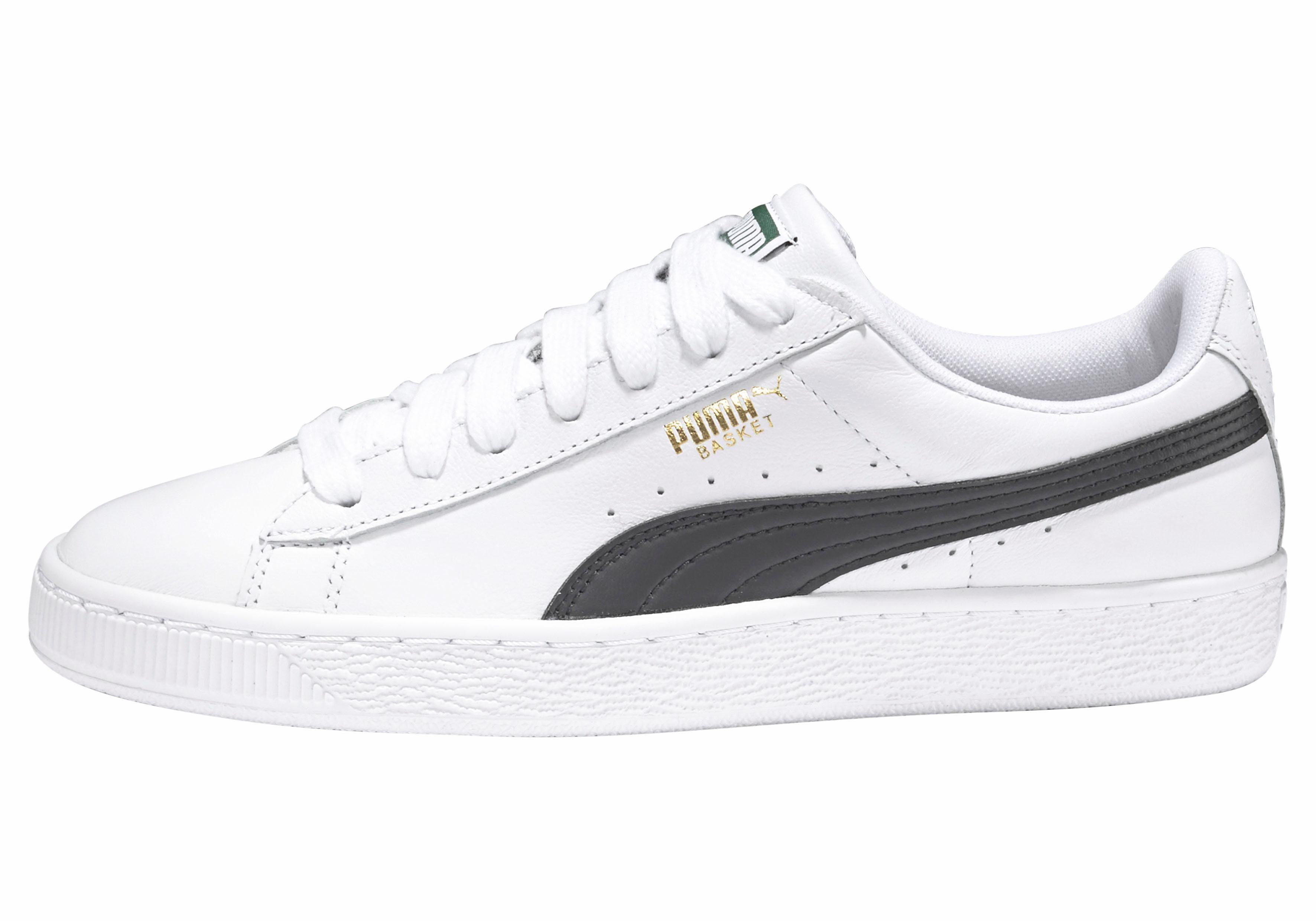 PUMA Basket Classic LFS Sneaker online kaufen  weiß-schwarz