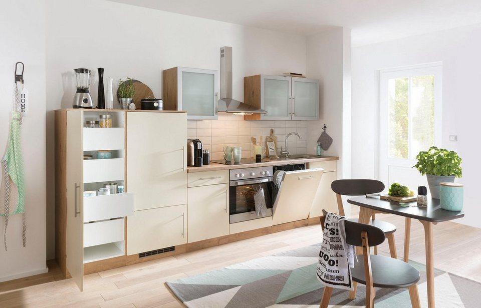wiho k chen k chenzeile mit e ger ten aachen breite 280 cm bestehend aus 15 teilen online. Black Bedroom Furniture Sets. Home Design Ideas