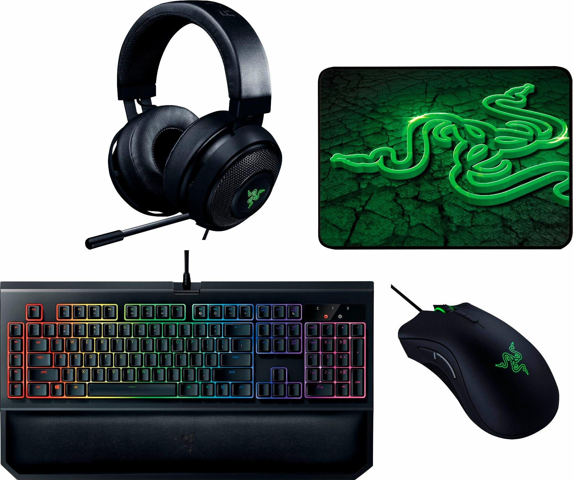 Razer High End Bundle Gaming Zubehör