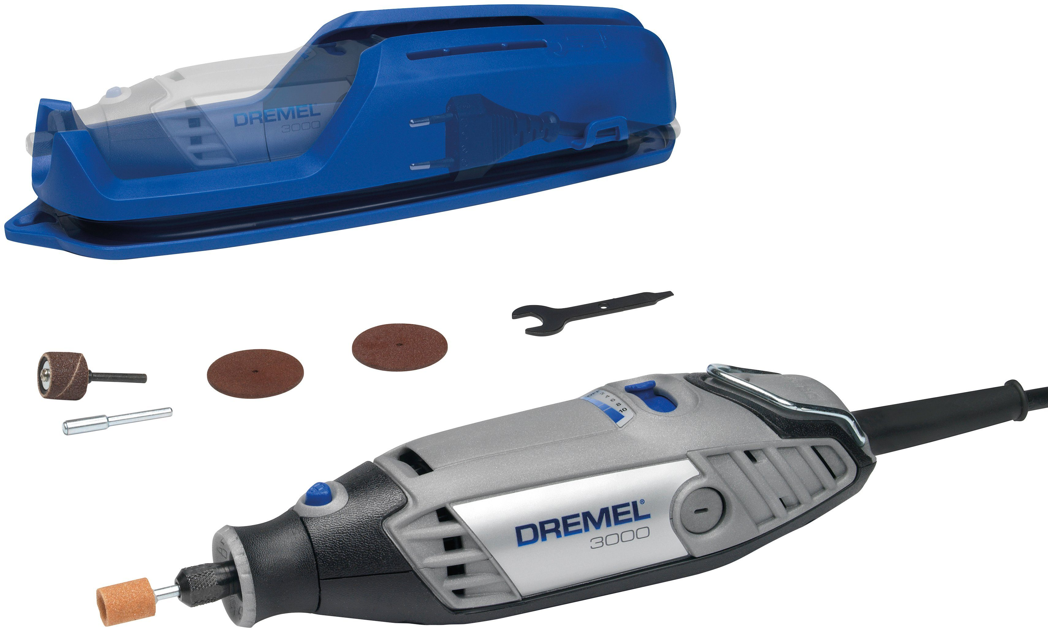 DREMEL Multifunktionswerkzeug »Dremel 3000-1/5«, 3-Diamanten-Set