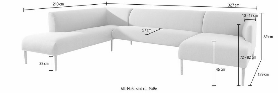 Andas Wohnlandschaft Finesse In Skandinavischem Design Mit