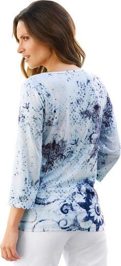 Classic Inspirationen Shirt mit Glitzersteinchen