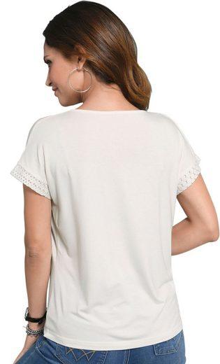 Alessa W. Shirt in floralem Druck