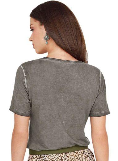 Alessa W. Shirt With Batik Effect