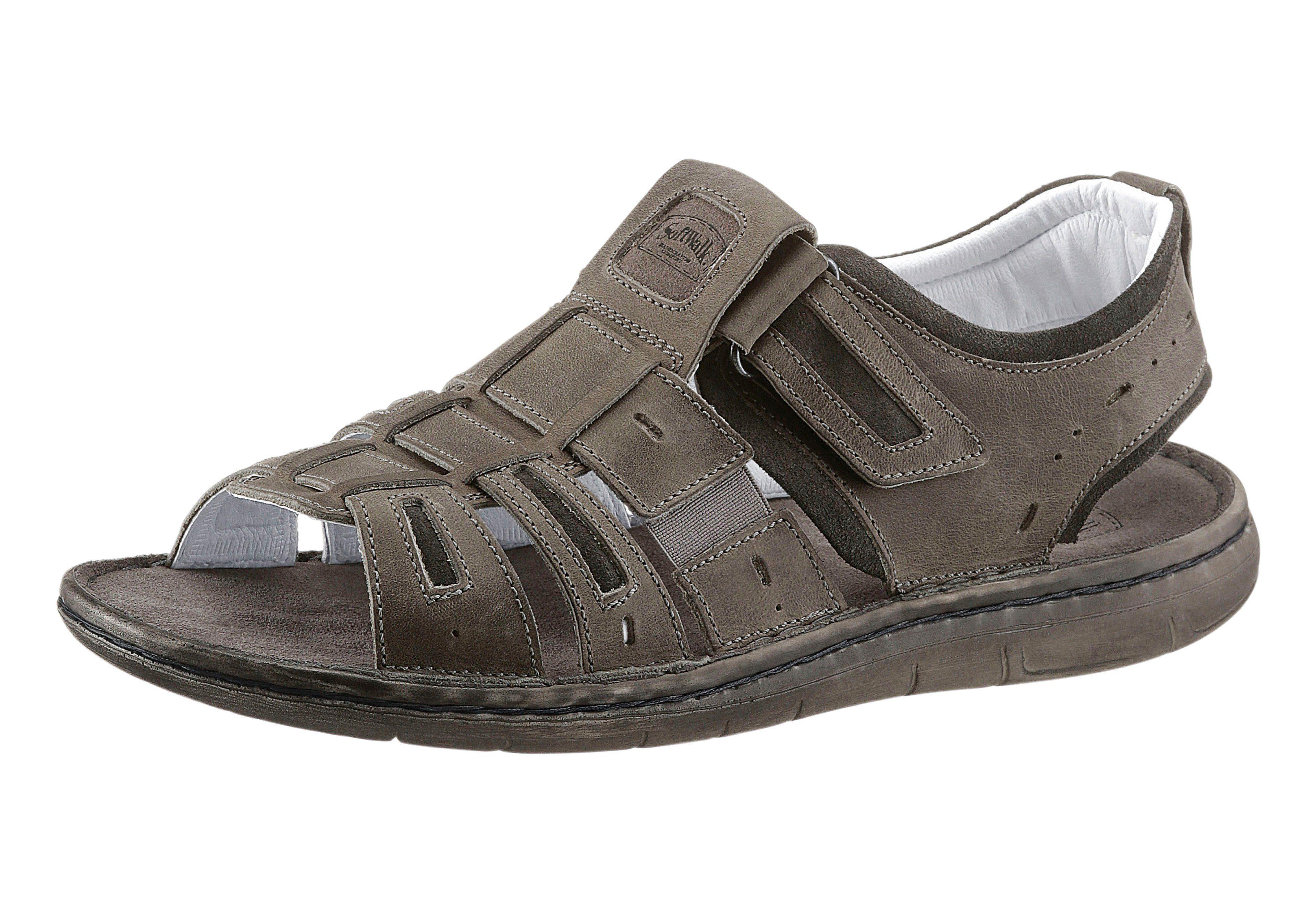 Leder Softwalk Fußbett Mit Weichem Sandale KaufenOtto QrCWxBoedE