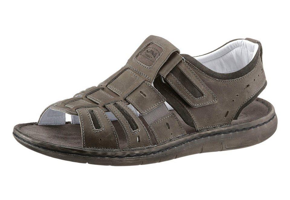 softwalk sandale mit weichem leder fu bett kaufen otto. Black Bedroom Furniture Sets. Home Design Ideas