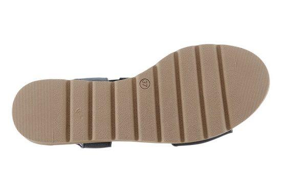 Corkies Sandalette mit Glitzersteinchen am Rist