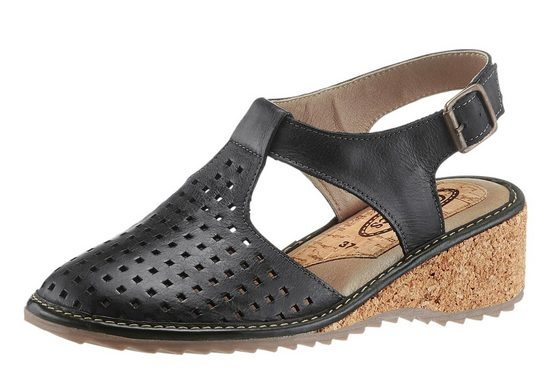 Corkies Sandalette mit weich gepolstertem Fußbett