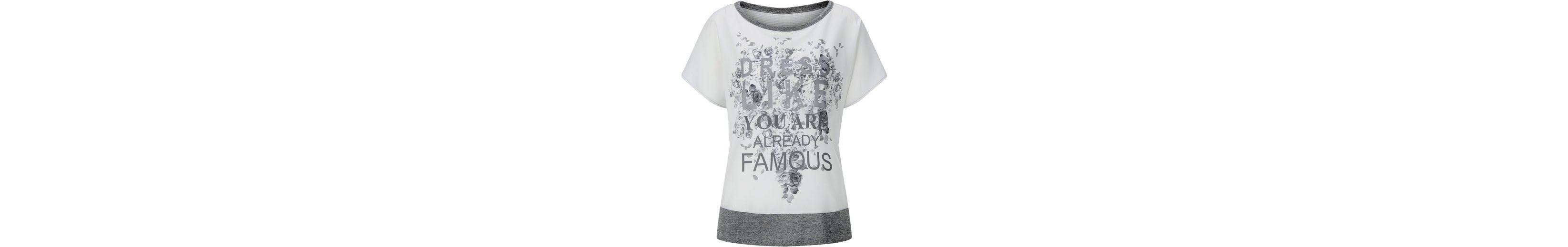 Classic Inspirationen Shirt im Materialmix Billig Verkauf Größte Lieferant Freies Verschiffen Beruf Spielraum Offiziellen dpgk1X