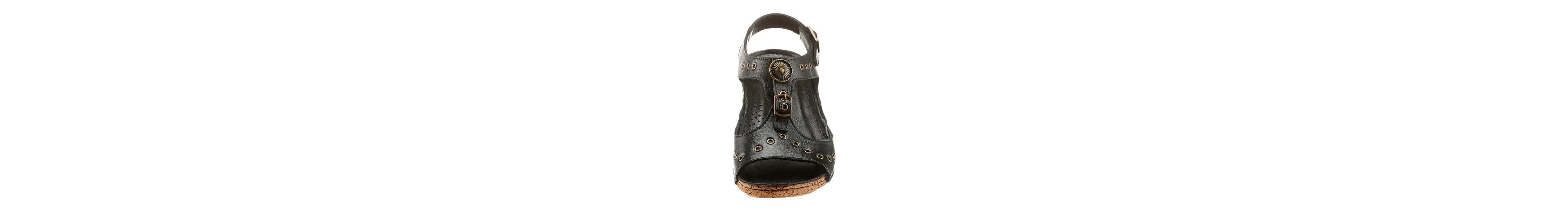 Steckdose Billig Verkauf Neueste Gemini Sandalette mit Ziernieten und Zierknöpfen 2018 Zum Verkauf Kosten Günstig Online PinrJo6Dy