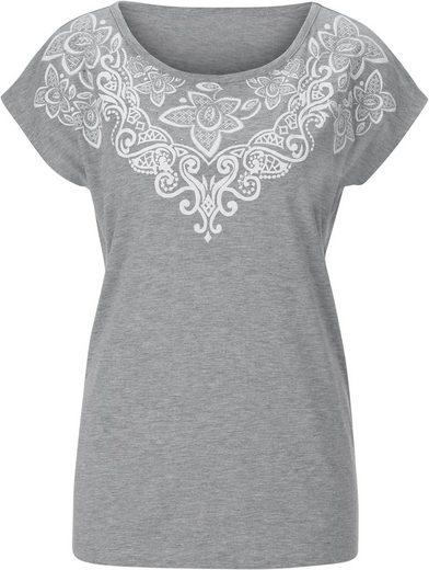 Classic Inspirationen Shirt mit Ornamentikdruck