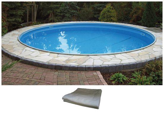 BWT - Best Water Technology Set: Rundpool ØxH: 600x150 cm, inkl. Bodenschutzvlies