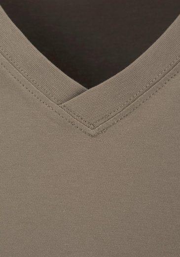 T-Shirt mit V-Ausschnitt (6 Stück)