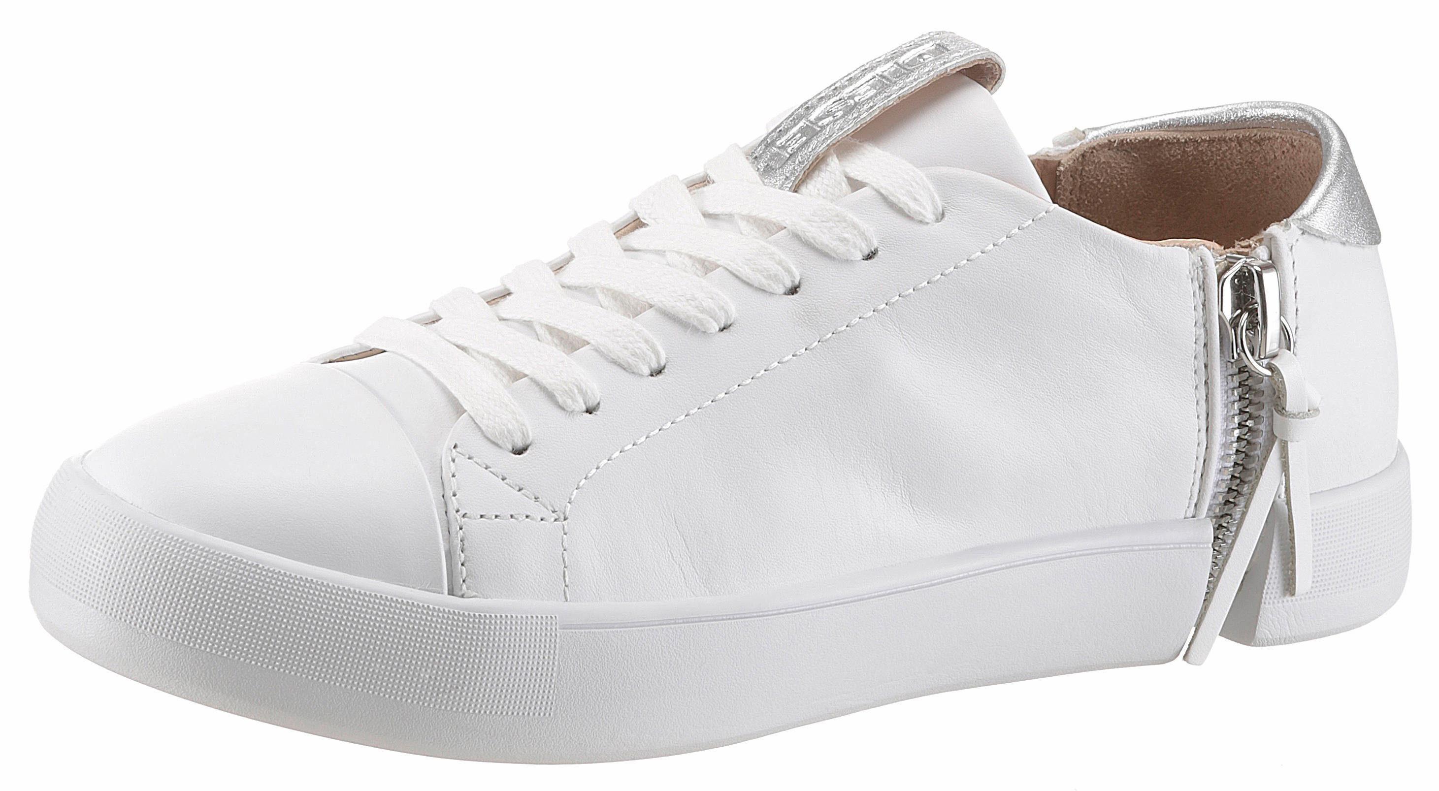 Diesel Zip-Round S-Nentish Lc W Sneaker, mit Reißverschluss außen online kaufen  weiß-silberfarben