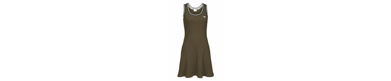 KangaROOS Jerseykleid, aus gerippter Shirt-Ware mit gestreiften Kanten
