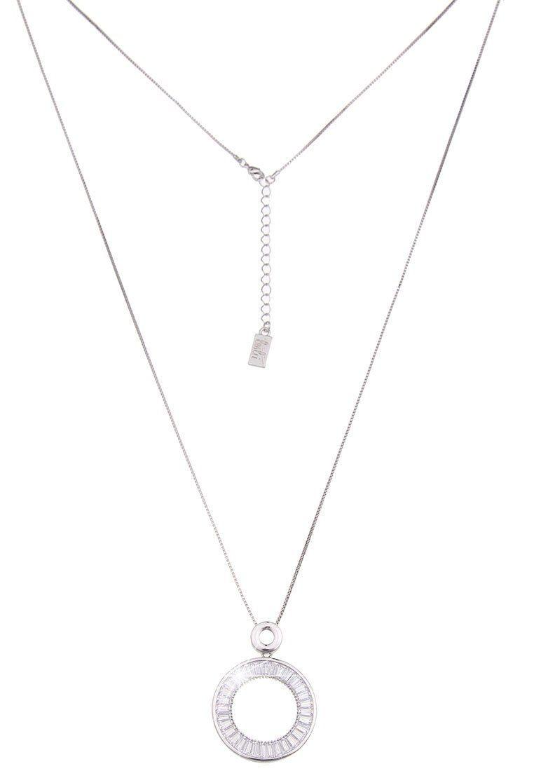 Leslii Halskette mit funkelndem Ring-Anhänger