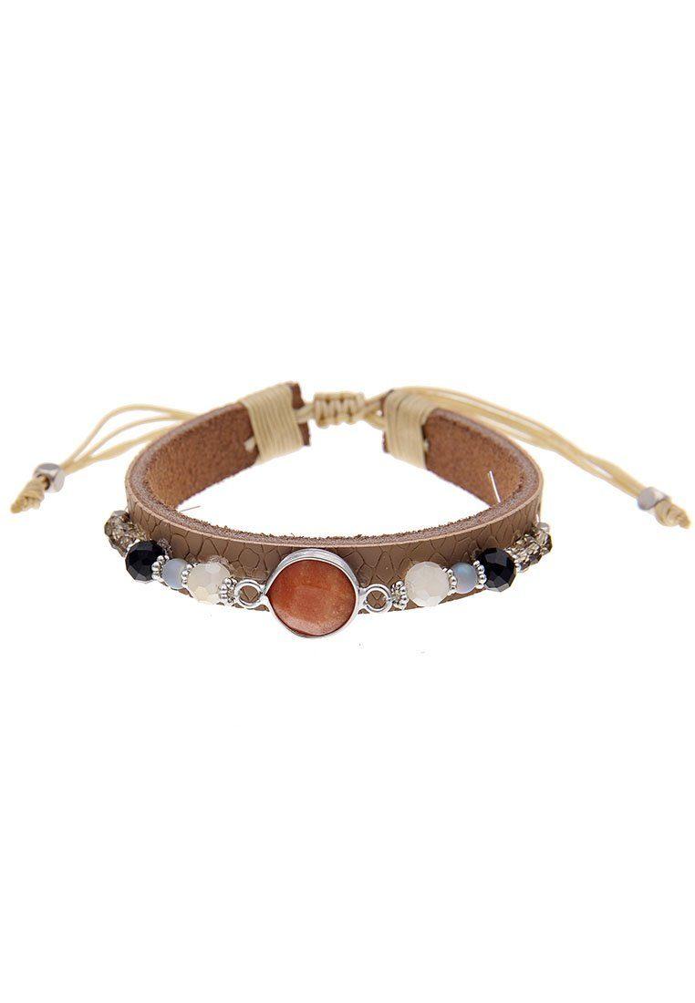 Mit Perlen Aus Online Armband Leslii Kaufen Leder rxBodCWe