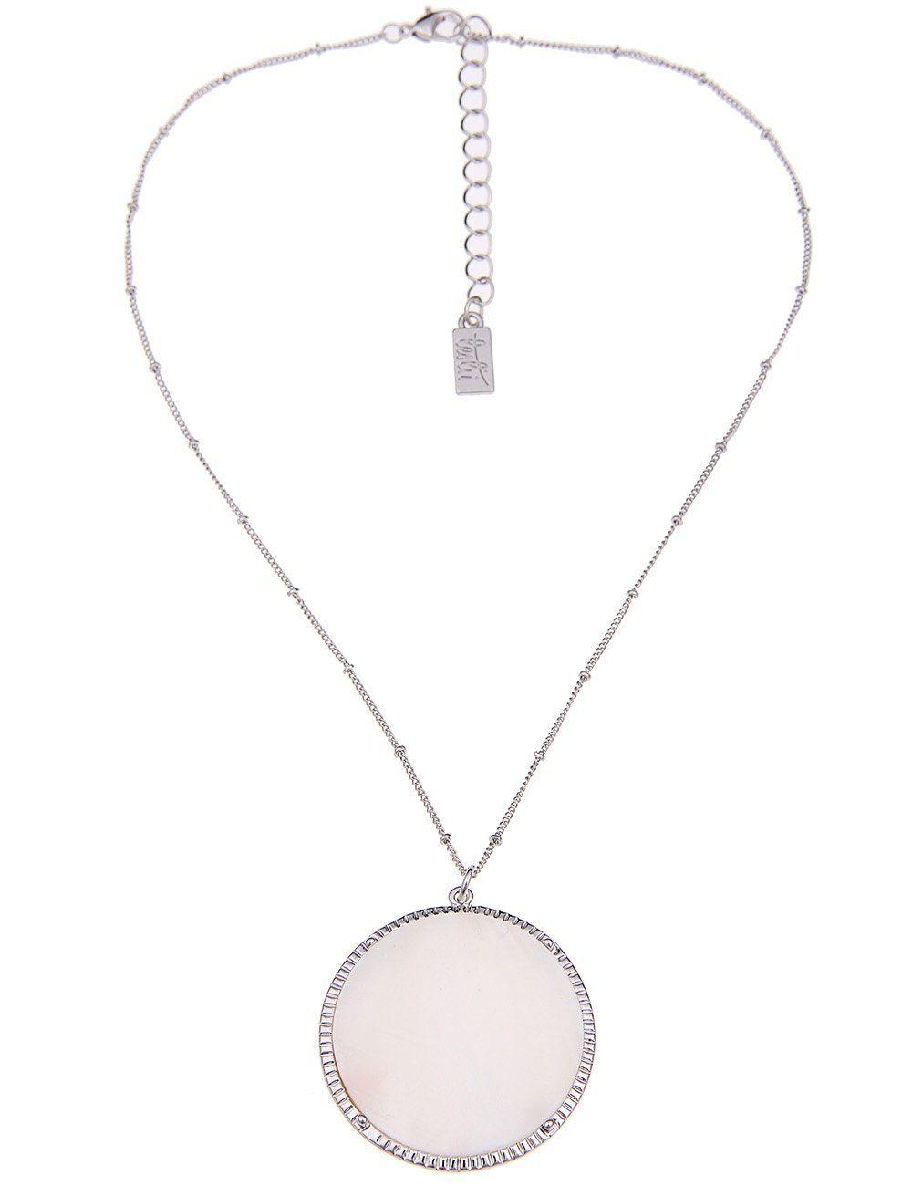 Leslii Halskette mit Perlmuttanhänger