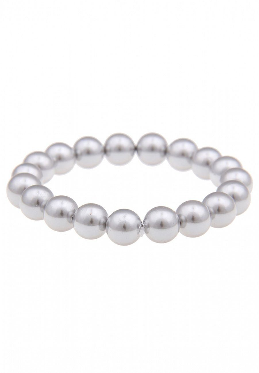 Leslii Perlen-Armband mit Gummifädelung