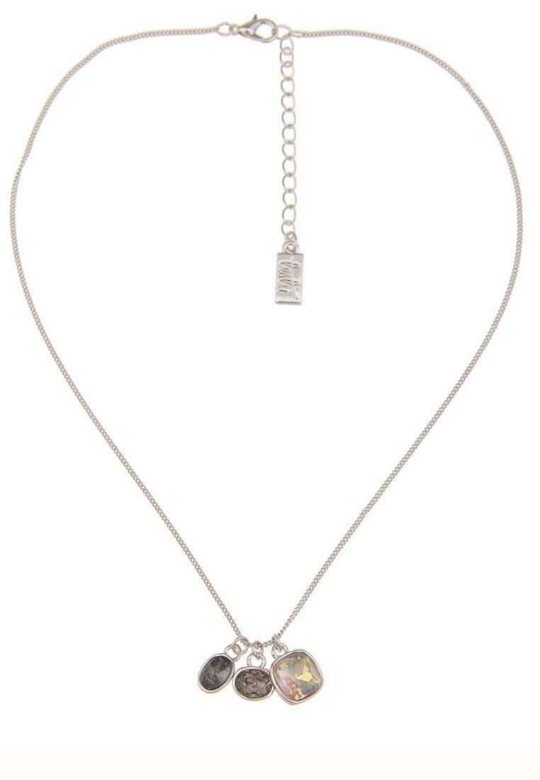 Leslii Halskette mit geschliffenen Steinen