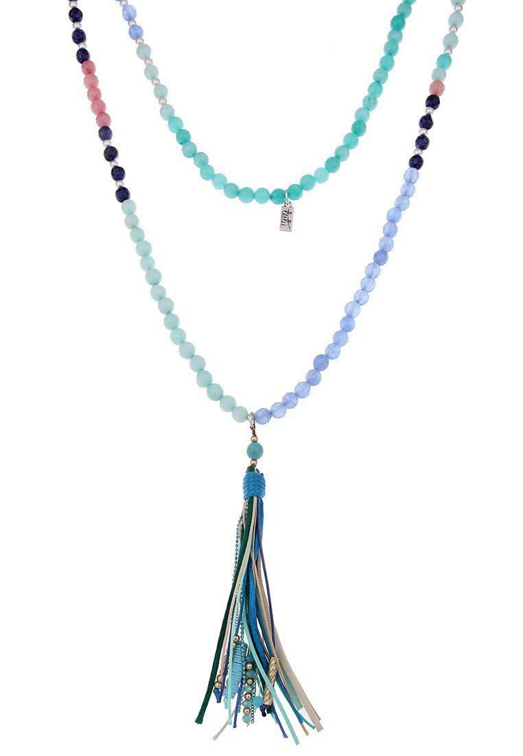 Leslii Halskette mit Bommelanhänger