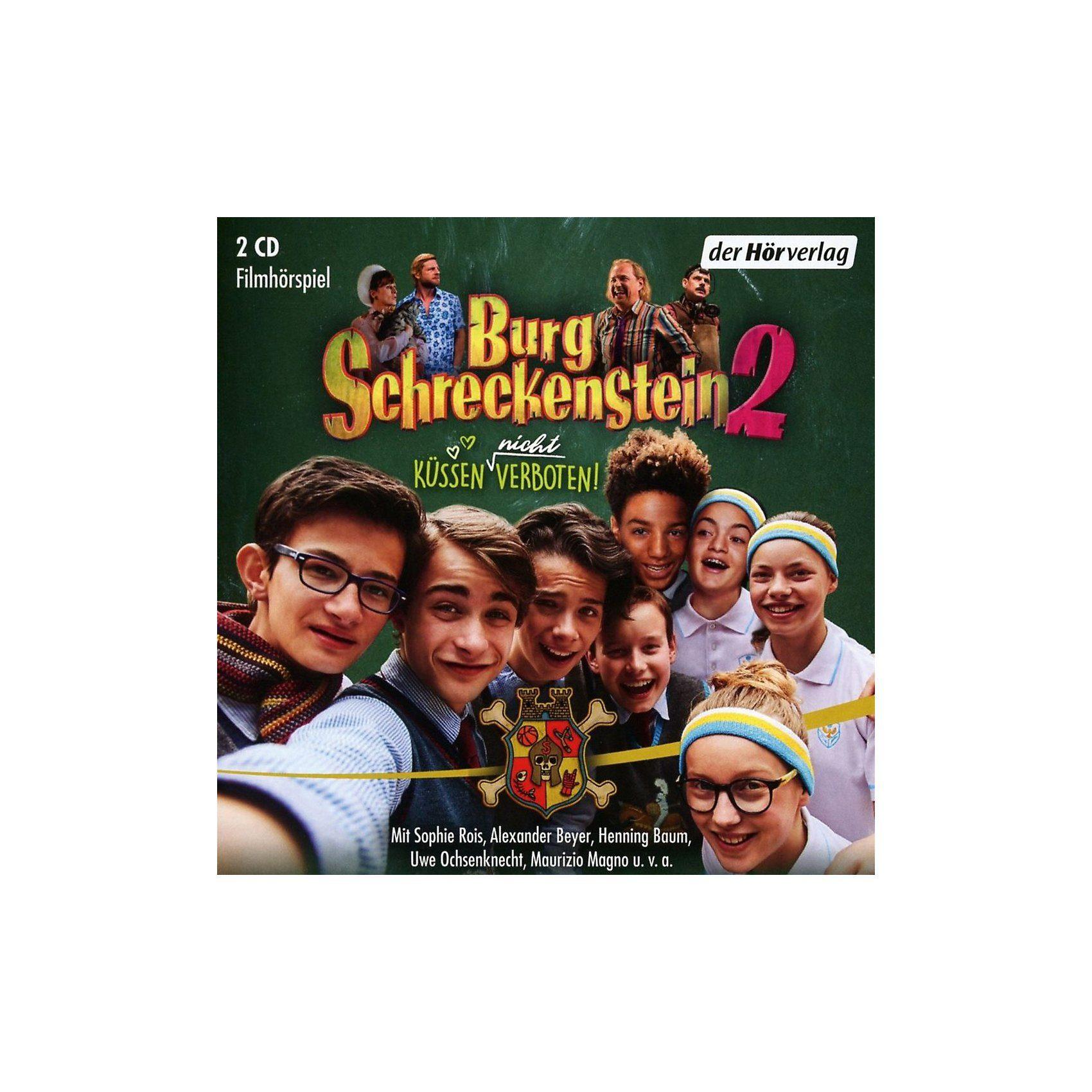 Edel CD Burg Schreckenstein 2 - Küssen (nicht) verboten (2 CDs)