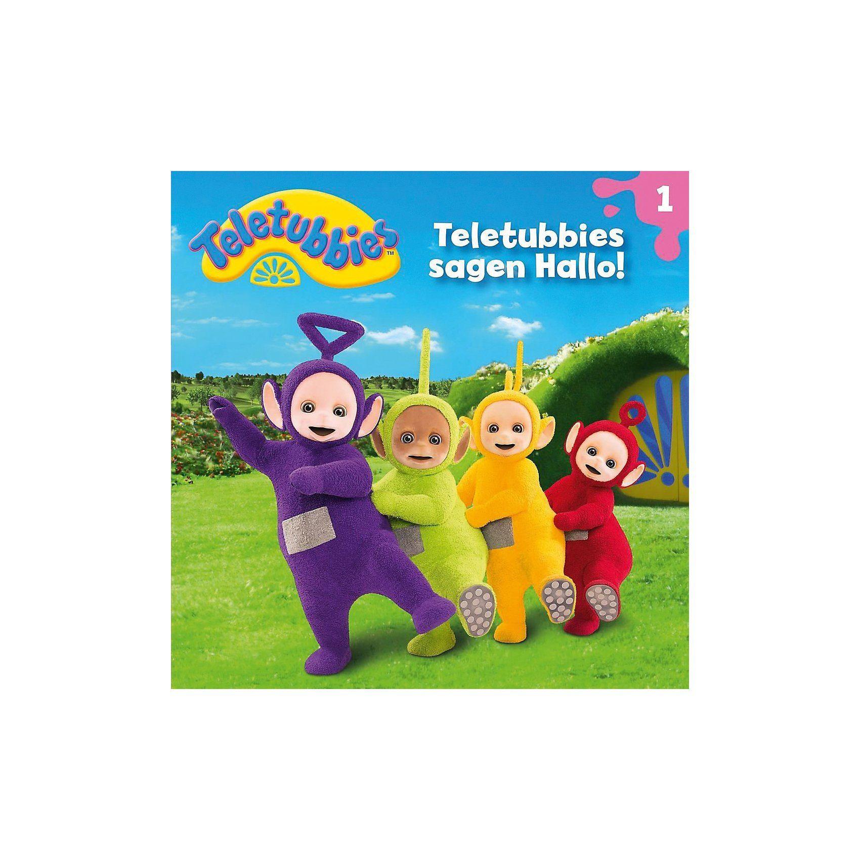 Universal CD Teletubbies 01 - Teletubbies Sagen Hallo!
