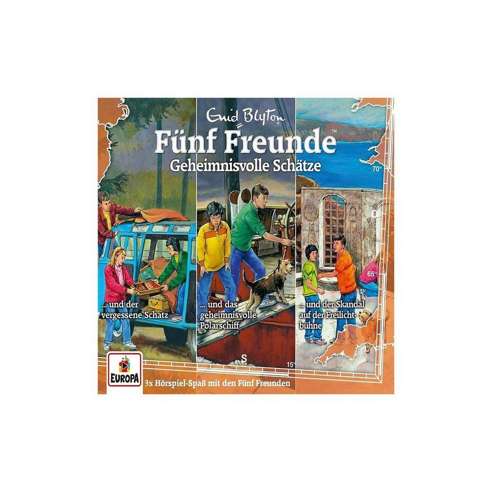 Sony CD Fünf Freunde 031 - 3er-Box-Geheimnisvolle Schätze (Folgen online kaufen