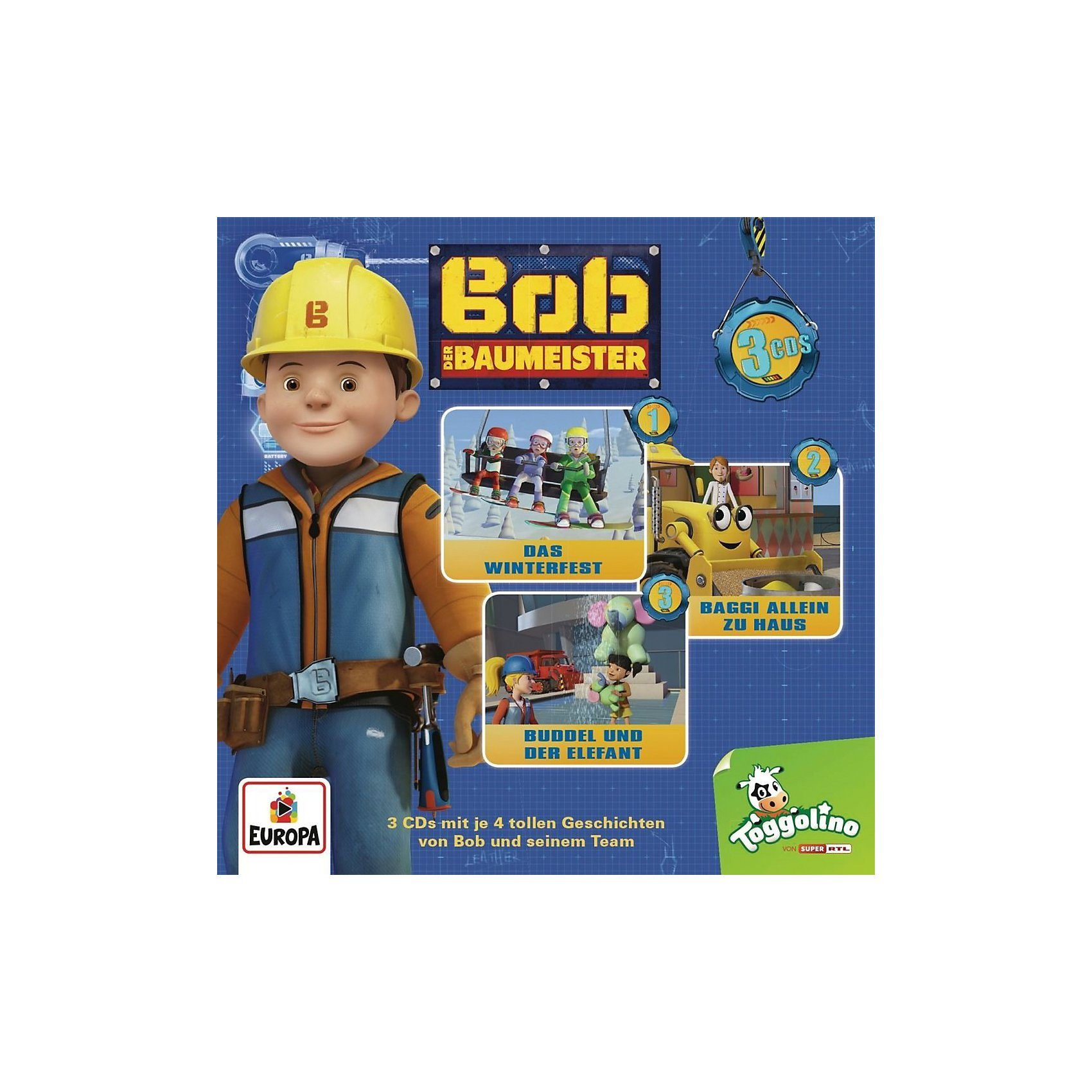 Sony CD Bob der Baumeister 03 - 3er Box (Folgen 07-09)