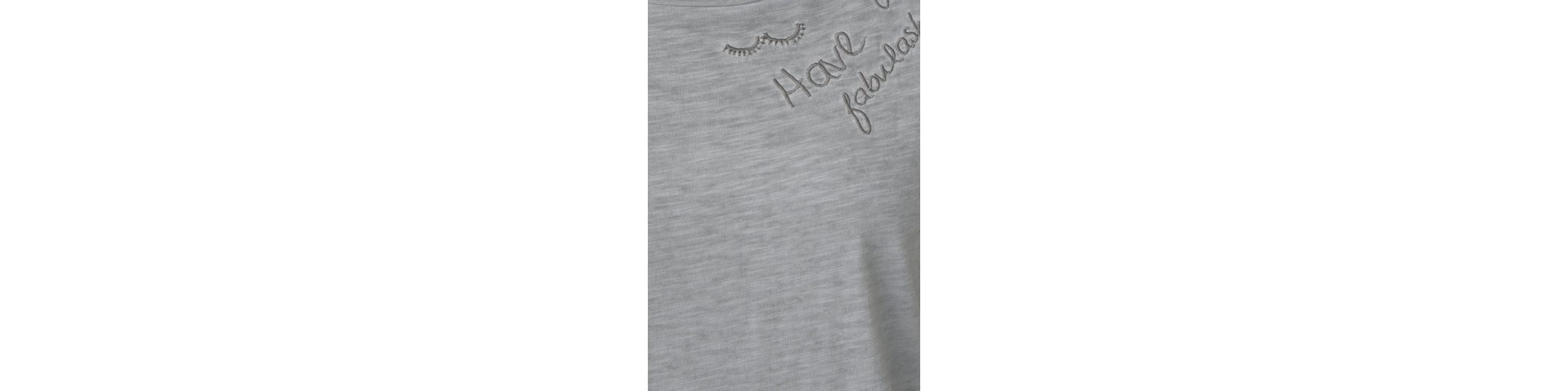Günstig Kaufen Schnelle Lieferung Günstig Kaufen Mit Paypal CECIL 3/4-Arm Shirt mit Wordings 2018 Rabatt uJzXGa8