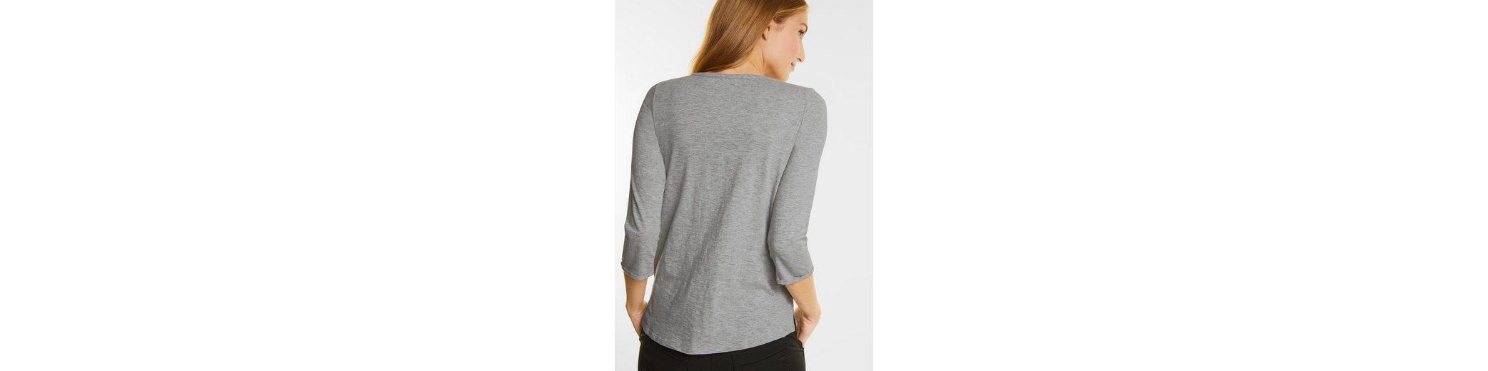 CECIL Melange Shirt mit Herzprint Verkauf Echt Spielraum Browse Q6LoxB