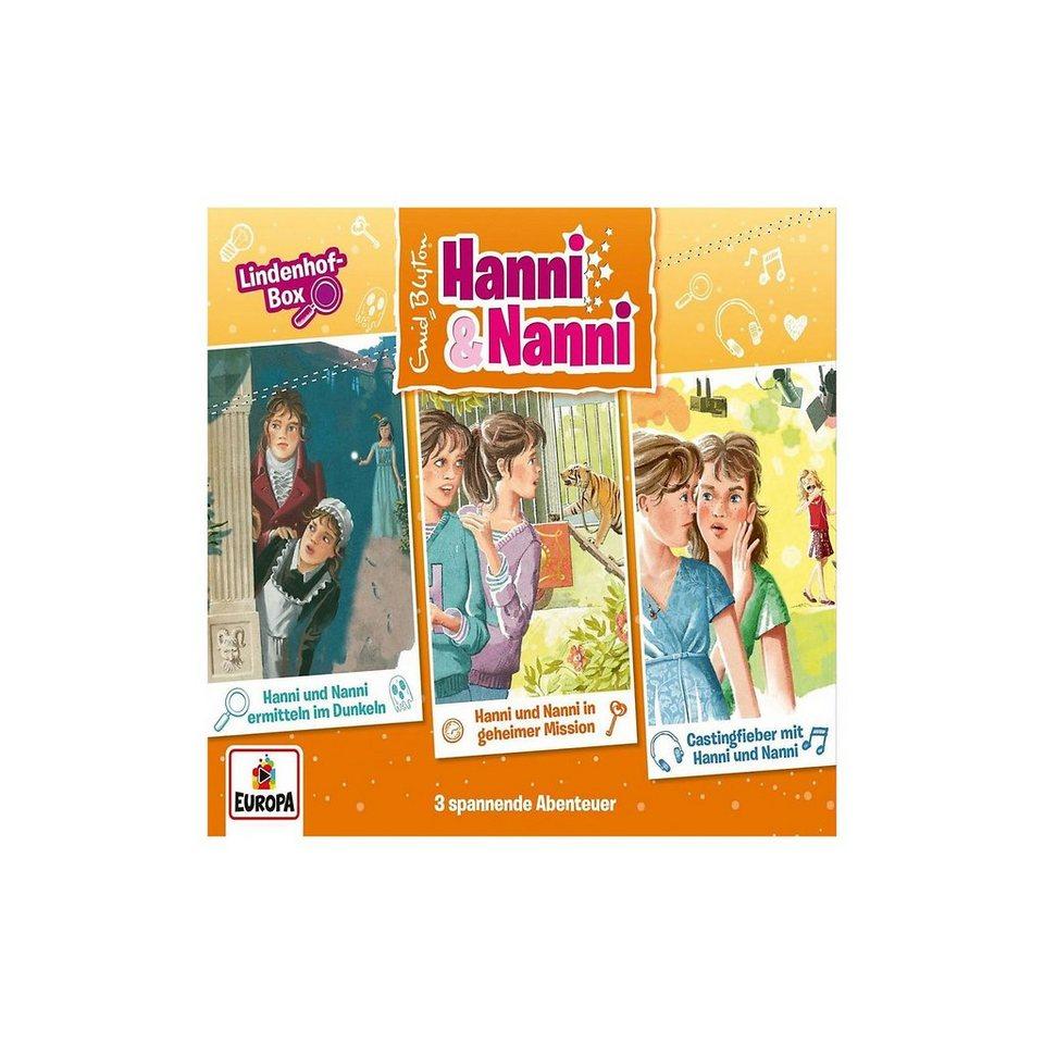 Sony CD Hanni -3er und Nanni 15 -3er Hanni Box-Lindenhofbox (Folgen 49,51,52 online kaufen ee8a28