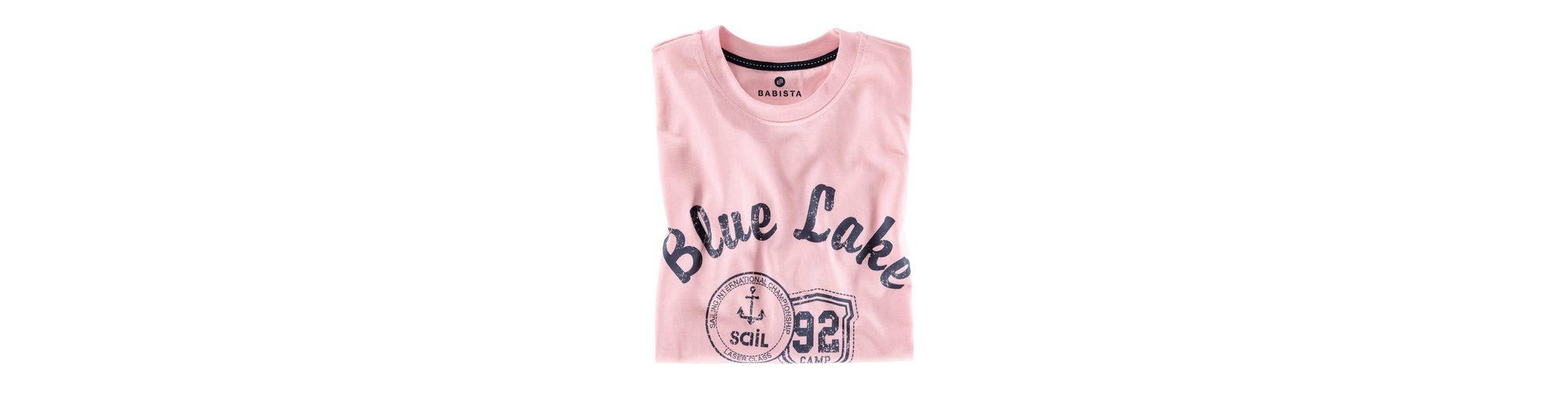 Babista T-Shirt mit platziertem Druck Billig Footlocker TsBQUu