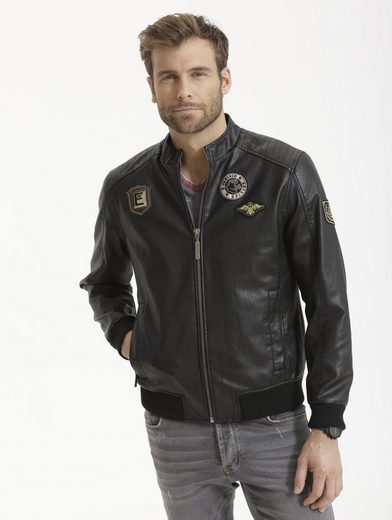 Babista Blouson Leather-look