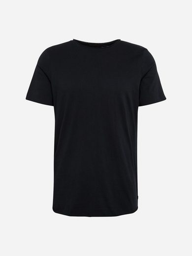 Scotch & Soda Rundhalsshirt Tee With Raw Edge Finish