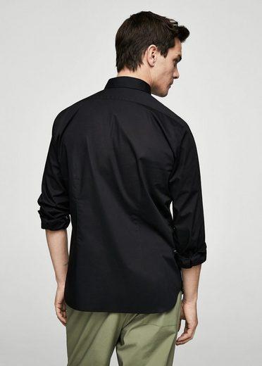 MANGO MAN Slim Fit-Hemd aus Baumwollstretch
