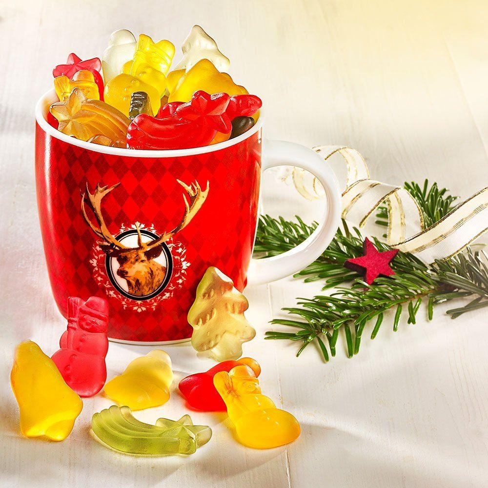 Weihnachtsbecher, süß gefüllt